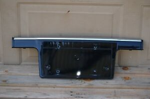 02 05 Bmw E65 E66 745li Front Molding Trim Tag License Plate Cover Oem 7033399