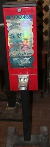Tattoo Sticker Bulk Vending Machine Candy Route Business Nysnc Cards