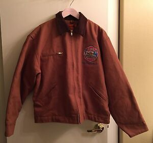 north Las Vegas Nevada Firefighter Turnout Parka Coat Emt Jacket Mens L
