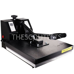 Powerpress Industrial Quality Digital Heat Press T shirt Printing Machine 15x15