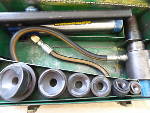 Greenlee Current Hydraulic Knock out Punch Set 1 2 2