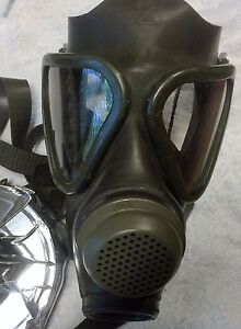 Drager Military Gas Mask Respirator New old Stock Unissued no Filter german Made