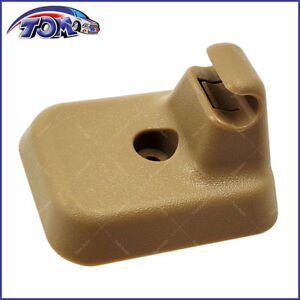 New Sun Visor Clip Retainer Camel Color Fits 2009 2014 Ford F 150