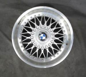Bmw E39 5 series Factory 17 2 piece Bbs Style 5 Basketweave Wheel Oem