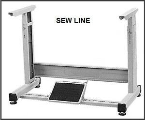 Sewline New T Leg Set Adjustable With Hardware For Industrial Sewing Machine