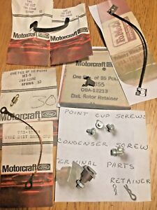 Nos Ford 1956 Ford Thunderbird Distributor Parts 10