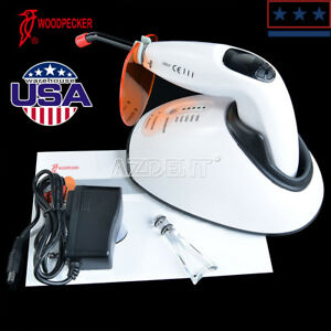 100 Woodpecker Led f Dental Wireless Led Curing Light Tooth Whitening Tip Meter