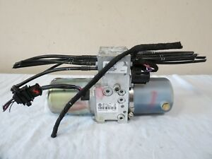 07 08 09 10 11 12 13 Vw Eos Convertible Top Roof Lift Motor Hydraulic Pump Oem