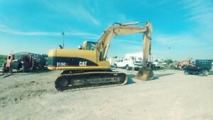 2001 Caterpillar 315cl Cab A c Excavator Trackhoe 2speed 37000lbs 21ft Dig 115hp