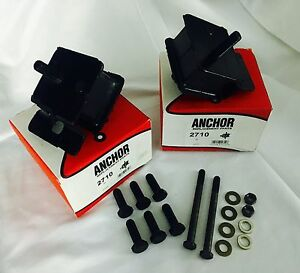 Compatible With Cummins 5 9 Motor Mounts And Black Grade 8 Bolts Kit 89 93