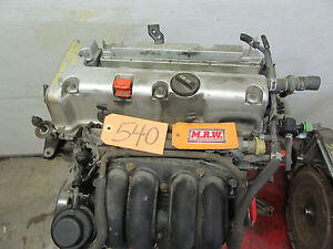 Fits 2 0l Engine 02 06 Rsx Base Motor Vin 8 6 Auto Transmission 4 Cyl Head Car