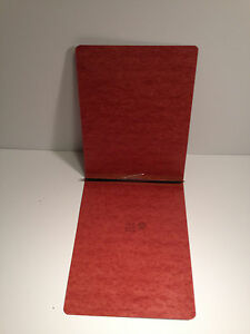Smead 81724 Pressboard Binder Red Letter 8 5 X 2 Capacity 3 Boxes Of 25