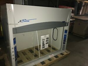 Labconco X stream 6 Chemical Fume Hood Vent With Base Cabinet 72 W X 60 High