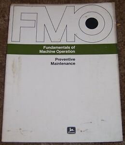 John Deere Fundamentals Of Machine Operation Manual