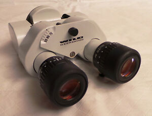 Wild Heerbrugg Surgical Microscope Head With Eyepieces