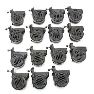 Lot Of 15 Drager Voice Amp Amplifier Scba Fire Mask Safety Communication