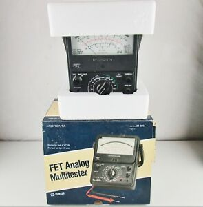 Micronta 22 220a Fet Multi Tester Meter Multitester not Complete No Leads