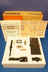 New Mitutoyo Surftest Sj 210 Surface Finish roughness profilometer With Warranty