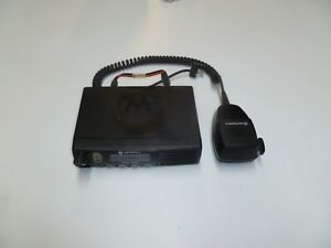 Motorola Radius Cm300 146 174 Mhz 45 Watt Vhf Two Way Radio Aam50kqf9aa1an W Mic
