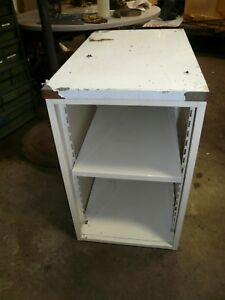 Nearly New Royston Food Service Cabinet With Stainless Steel Counter Top
