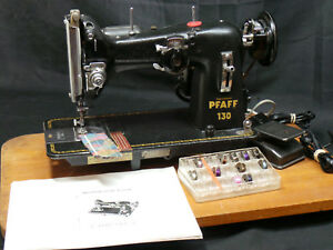 Pfaff 130 Sewing Machine Heavy Duty Denim Upholstery Leather