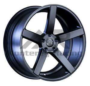 18x9 5x108 Jnc 026 Black Made For Ford Volvo
