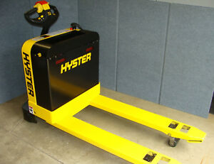 Hyster W40z Electric Walkie Pallet Truck Jack Reconditioned 27 X 48 4000