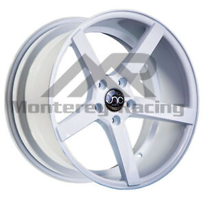 18x8 5x108 Jnc 026 White Made For Ford Volvo