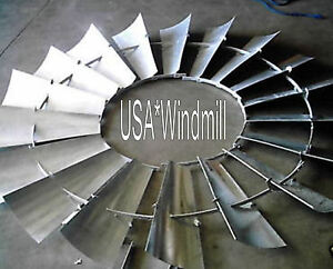 Aermotor Windmill Wheel For 8ft A702 Models New W o Spokes Sections Assembled