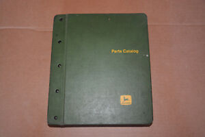 John Deere 2510 2520 2630 Tractor Parts Catalog In Binder Pc 957 Pc 1145 Pc 1401
