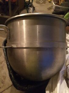 Hobart 60 Qt Bowl 60 Quart Commercial Mixer Bowl Stainless Mixing