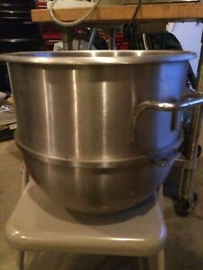 Hobart 40qt Stainless Commercial Mixing Bowl 40 Quart Mixer