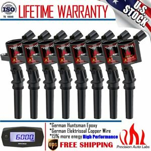 8pack Ignition Coil For Ford F150 Expedition 5 4l 6 8l Dg508 2000 2001 2002 2004