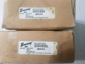 Browning 3b5v52 Pulley cast Iron 3 Grooves 5 48 Diameter Nos