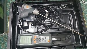 Testo 327 1 Flue Gas Combustion Analyzer Kit With Case Fast Free Shipping