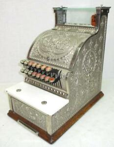 1913 Nickel National Cash Register Model 312 Candy Store Excellent Condition