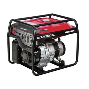 4000 watt Gasoline Powered Portable Generator With Gfci Duplex Outlet Protection