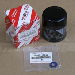 Toyota Oem Engine Oil Filter 90915 Yzzd1 For 4runner Camry Tacoma