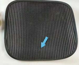 Herman Miller Aeron Chair Seat Mesh Black Pellicle W Blemish Size B Medium 5