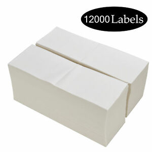 12000 Fanfold Direct Thermal Shipping Labels 4x6 Barcode Labels Zebra Eltron Ups