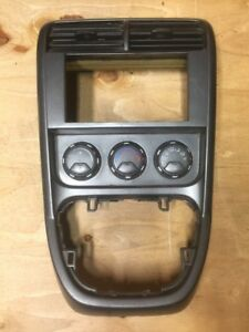 03 06 Honda Element Oem Center Vent Shift Console Climate Contro Trim Bezel