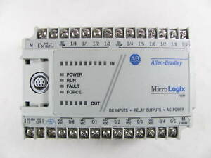 Allen Bradley Micrologix 1000 1761 l16bwa Ser E Works Great No Covers
