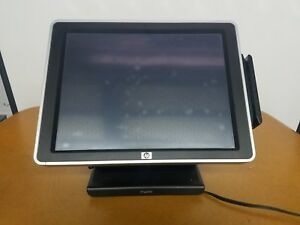 Hp Ap5000 Pos Touchscreen Intel Core 2 Duo E7400 2 80ghz 3gb 64gb Ssd No Os