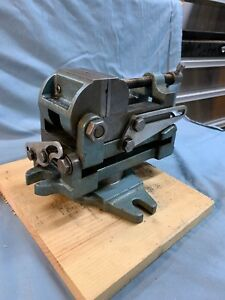 Rare Palmgren Machinist Toolmaker Multi Tilting Multi Angle Drill Press Vise 2 5