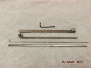Kelsey 6x10 Model V X new Style Gripper Assembly 2 Grippers Bar Spring