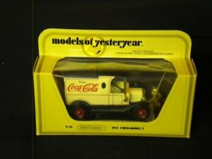Matchbox Models of Yesteryear 1912 Ford Model T Ford Coca-Cola Van