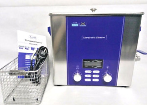 6l Ultrasonic Cleaner Industrial Dental Parts Wash Machine Power Adjust Dr p60