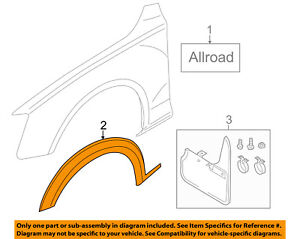 Audi Oem 17 18 A4 Allroad Fender Stone Guard Right 8w9853718amx3