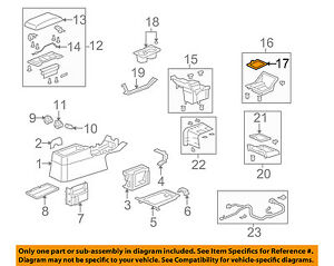 Honda Oem 07 10 Element Console center Panel Protector 83456scva91za