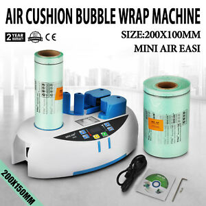 Air Easi Cushion Bubble Wrap Machine 2800pc Bubble Package Bag 2 Years Warranty